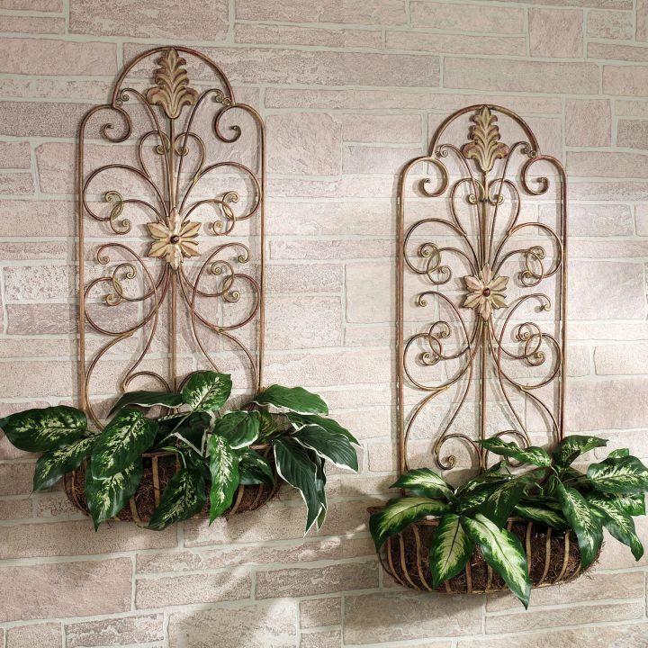 classy indoor wall hanging planter
