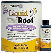 Liquid roof provides repairing of RV roof and protect vehicle from leaks and water damage.