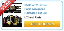 Print NOW for Cheap L'Oreal Advanced Hair Care w/$5/2 Printable! @Jessica Dwyer ~ Ends Today! ~