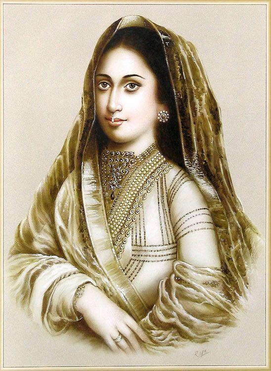 Mughal Queen (Reprint on Paper - Unframed)