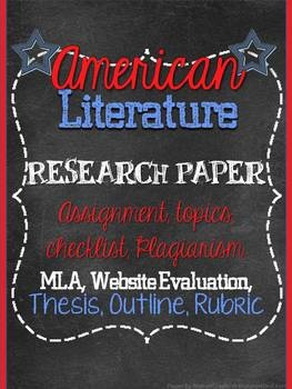 best teaching american literature ideas  american literature research paper everything you need