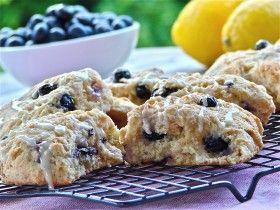 Summer 2012 Newsletter: Lemon-Blueberry Scones - Janet and Greta Podleski