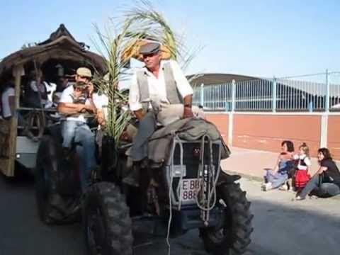 Tractores grandes y pequeñas en la Cabalcada de Estepona,2012
