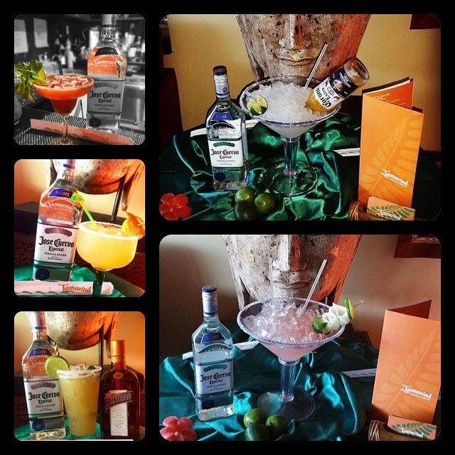 "Countdown till Cinco de Mayo!! ���� Margaritas all day! (From left to right) Tomato Punch, Tango Mango, Jalapeño ""wow wow"" margarita, The Giant Corona and Cucumber margarita. ����#cincodemayo #2017 #celebration #drinks #bartenderlife #josecuervo #liquor #coronas #lighthousepointfl #deerfieldbeach #soflo #japanese #bocaraton #miami #sushibar #sake #thaifood #thaicuisine http://w3food.com/ipost/1506744942563158873/?code=BTpCIrMl-tZ"