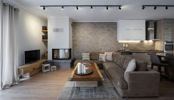 """Ανακαίνιση διαμερίσματος: """"The cozy apartment"""" Αρχιτεκτονική μελέτη: Σκαρλακίδης Στέφανος"""