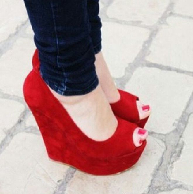 1969 Best Most Beautiful Wedges Images On Pinterest