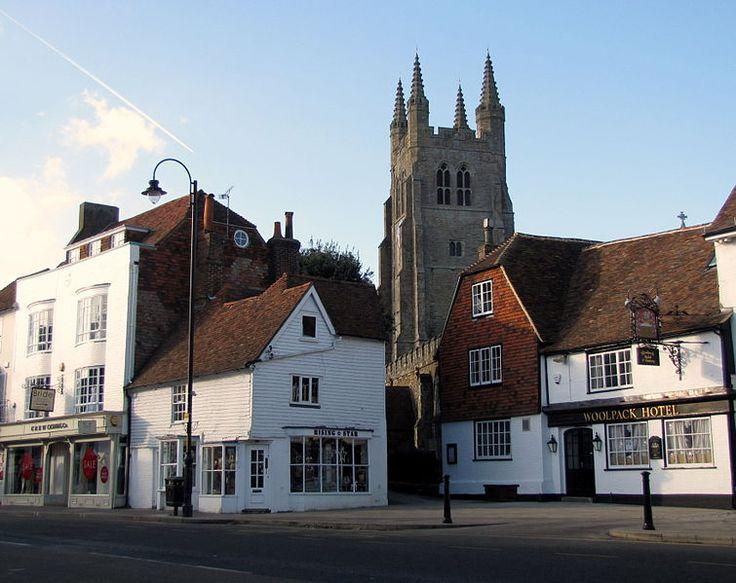 Tenterden, Kent, England. 1587/88, 1552 – Hatch, 1546 – Huckstep, Hucsteppe, 1520 – Glover, 1583, 1546 – Tilden