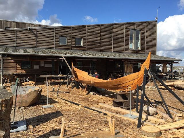 Making of a viking ship, Denmark. Recommend!