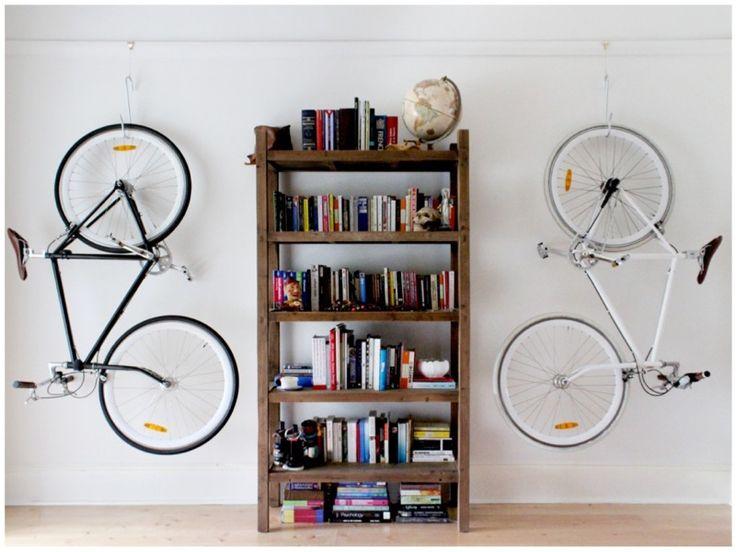 Bicicletas na decoração.