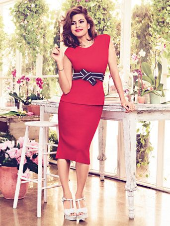 Shop Eva Mendes Collection - Knit Pencil Skirt . Find your perfect size online at the best price at New York & Company.