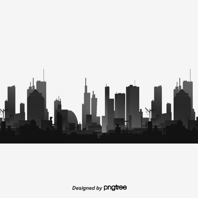 Urban Black Silhouettes Hong Kong City Building Floor Png Transparent Clipart Image And Psd File For Free Download Black Silhouette Skyline Silhouette Silhouette People