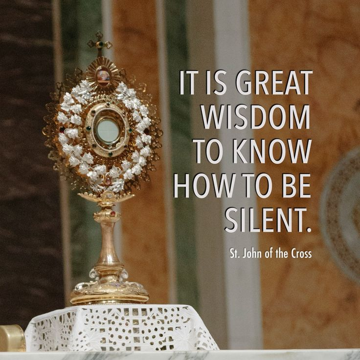 Allow yourself to have a moment of silence today and in that moment, turn your thoughts to God. #ReflectwithMystics