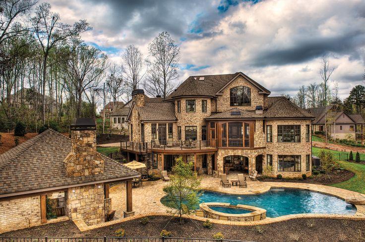 Pool & Patio   Inspiration Home 2009   Milestone Custom Homes