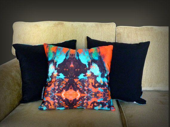 Possibilities: Art Cushion |Throw Pillow, unique, original handmade design | $49.95 https://www.etsy.com/au/shop/MagentaBlues