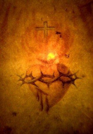 Resultado de imagen para corazon traspasado de jesus