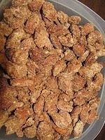 """Nutty Bavarian Nuts. LOVE THEM! I added a tsp Vanilla! I made a batch for David but the girls loved them so much I had to make another batch. I made pecans, cashews, almonds and peanuts. David buys these at Scheel's - 8 dollars for 3 small """"cones."""""""