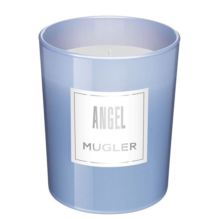 ANGEL Scented Candle - Create the perfect ambiance at home with the delicious scent of ANGEL!  Handcrafted in keeping with waxmaking tradition, ANGEL candles will give a celestial finishing touch to your interiors.    Fragrance notes: bergamot, tropical fruits, vanilla, caramel and patchouli