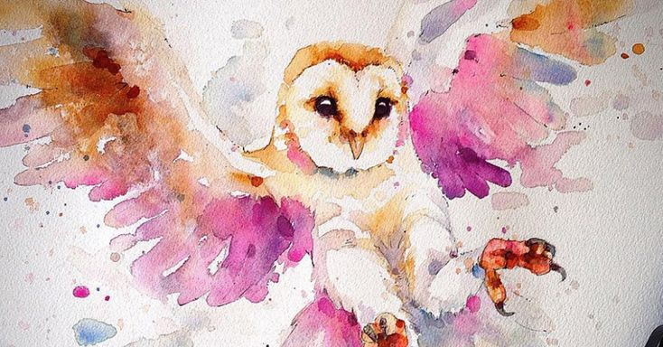 Incredible watercolor portraits of animals, by Sillier Than Sally | Freepik Blog #graphicdesign