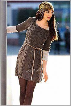 Мини- спицами с косами | Вязание спицами, вязание крючком | Мир увлечений современной женщины.