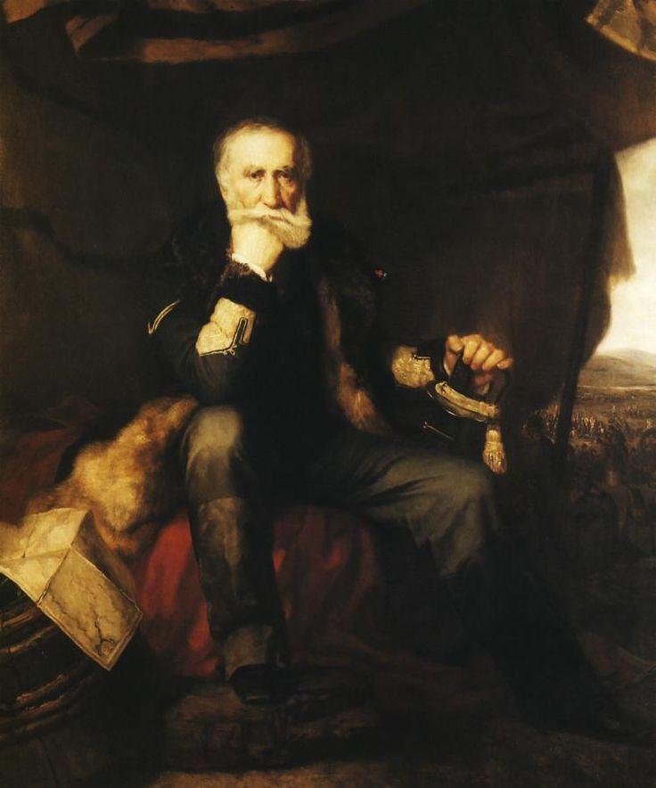 Henryk Rodakowski, Portret generała Henryka Dembińskiego, 1852.