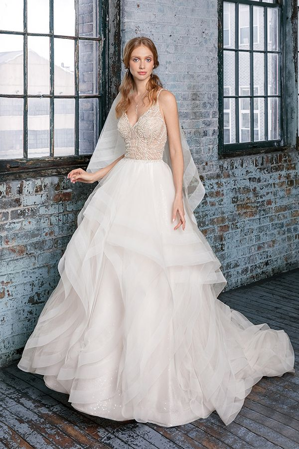 justin alexander signature style #99017 - beaded ballgown wedding