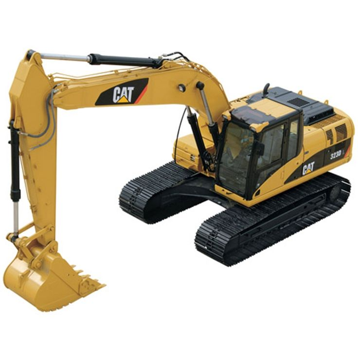 54.50$  Buy here - http://aliefe.shopchina.info/go.php?t=32794538228 - CATERPILLAR 1: 50 323D L Hydraulic Excavator with Metal Tracks Collections 55215 Yellow Best Quality Car Models  #buychinaproducts