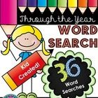 FREE during the Tricks and Treats blog hope:  Student Created Word Search Kit ~ Word Searches Through the Year.  The word searches are perfect for ...