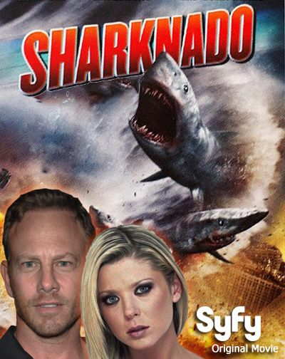 Shark Week meet #SHARKNADO! Seven shark-themed disaster films are headed your way!