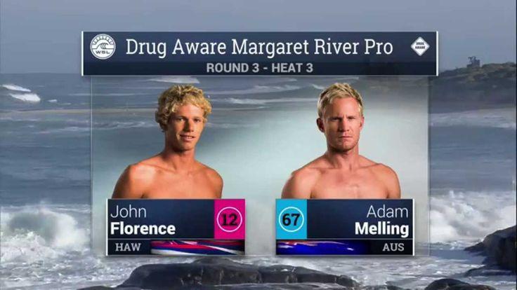 Men s Drug Aware Margaret River Pro R3 H3 Recap