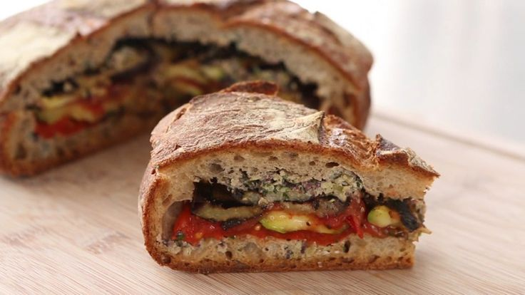 Grilled Ratatouille Sandwich Videos | Food How to's and ideas | Martha ...