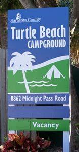 Siesta by kelly Turtle Beach Recreational Vehicle (RV) & Campground Guide - Beachfront RV Park - Siesta Key Florida