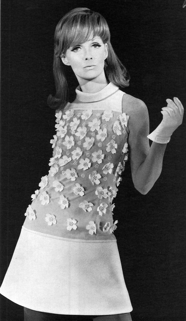 Ted Lapidus Dress 60s                                                                                                                                                                                 More