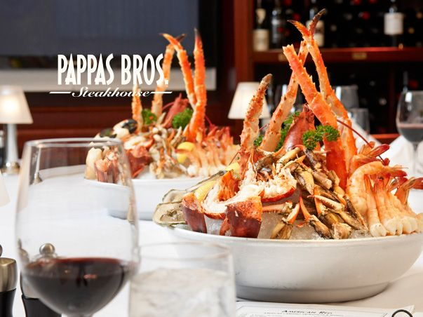 Pappas Bros. Steakhouse - Chilled Seafood Tower
