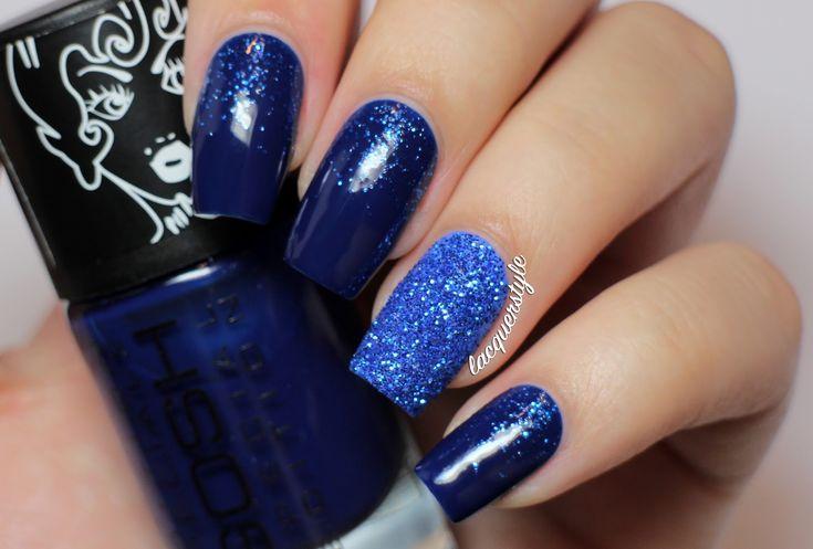 Uñas decoradas color azul, segunda parte con 30 imágenes ...