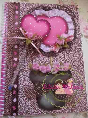 cuaderno decorado fashion - Buscar con Google