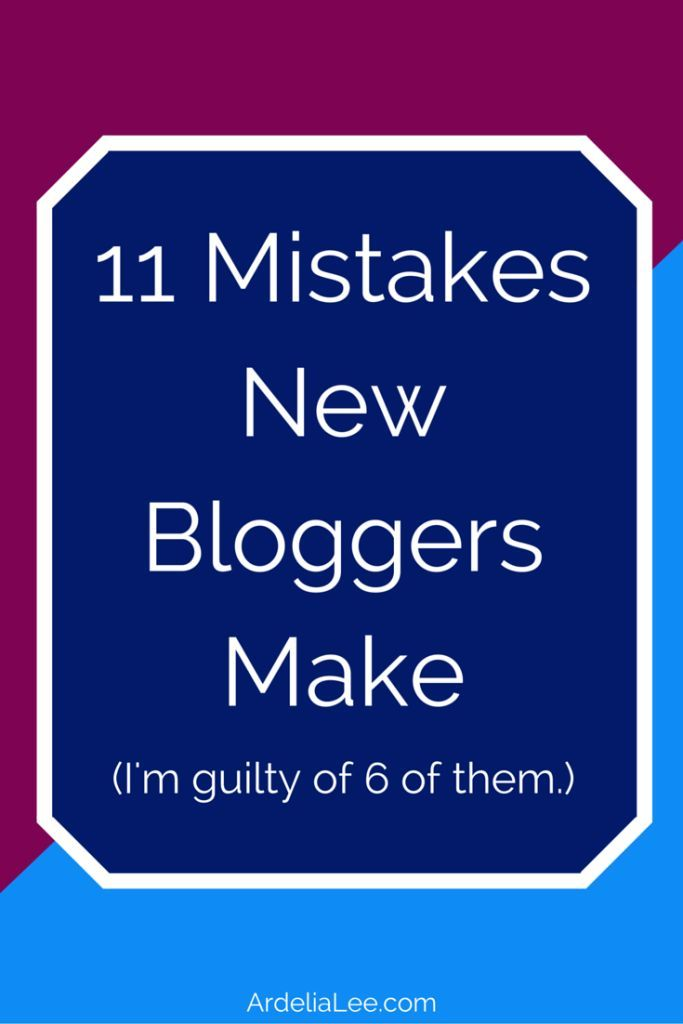 New bloggers are prone to mistakes. Unfortunately, these mistakes can slow blog growth, drive readers away, and irritate influential bloggers. Click through to find out if you're making these 11 new blogger mistakes.
