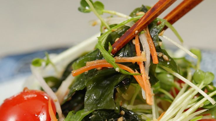 Seaweed Salad (Wakame Salad Recipe) 海藻サラダ(わかめサラダ) 作り方 レシピ