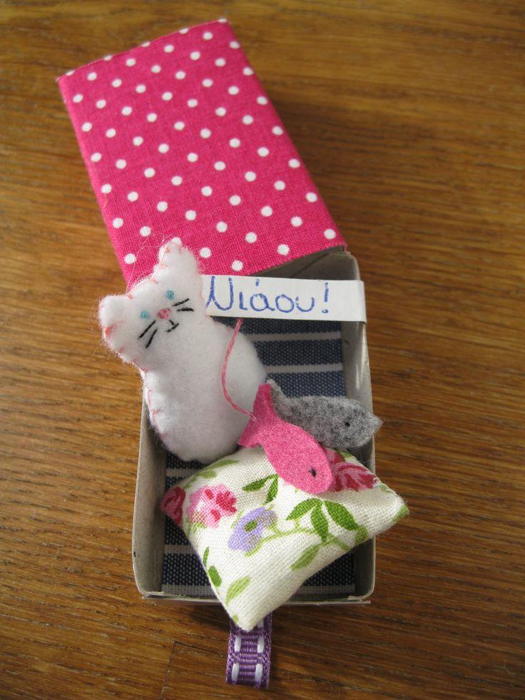 little matchbox for a kitten