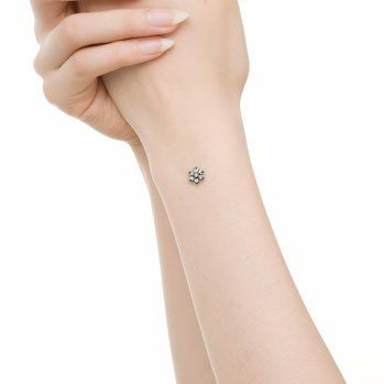 Dermal anchor on wrist | Yelp