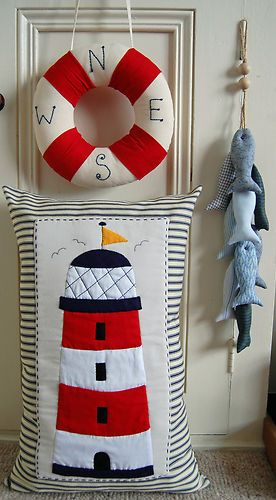 applique lighthouse