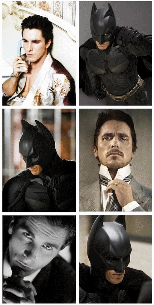 Christian Bale will forever be the Batman. But Kevin Conroy has the best Batman voice, ever!