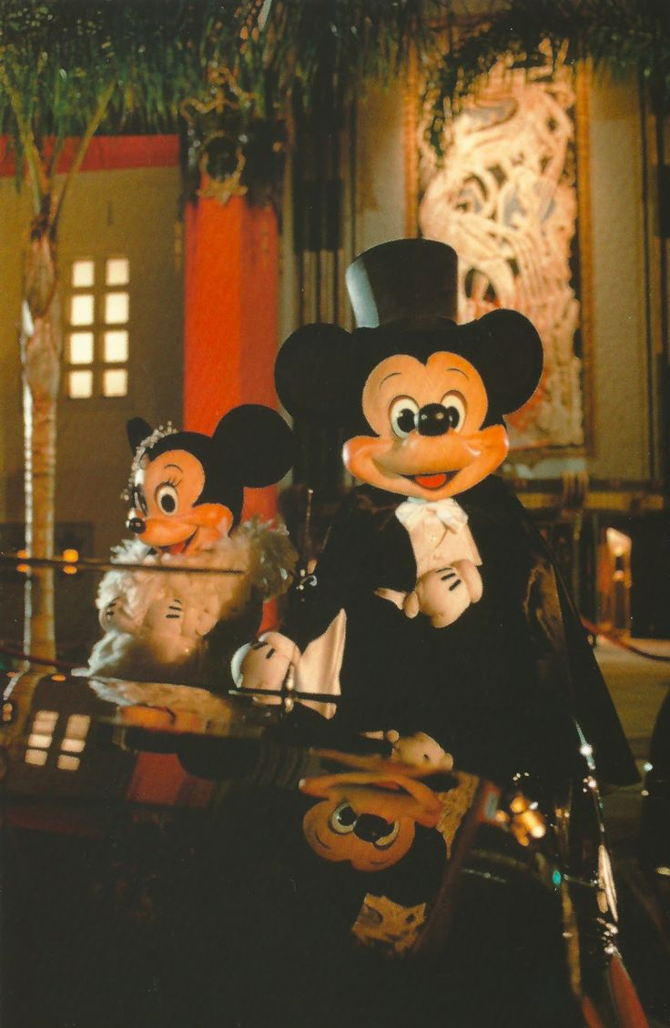 Mickey and Minnie on the Red Carpet in front of The Great Movie Ride at Disney's Hollywood Studios