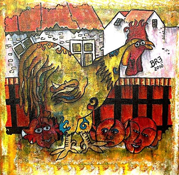 The Baker Street Rooster With Elves