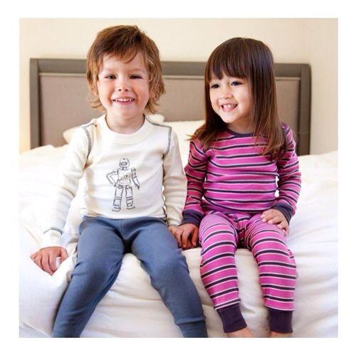 Pijamas para niños, ropa infantil biológica de Skylar Luna