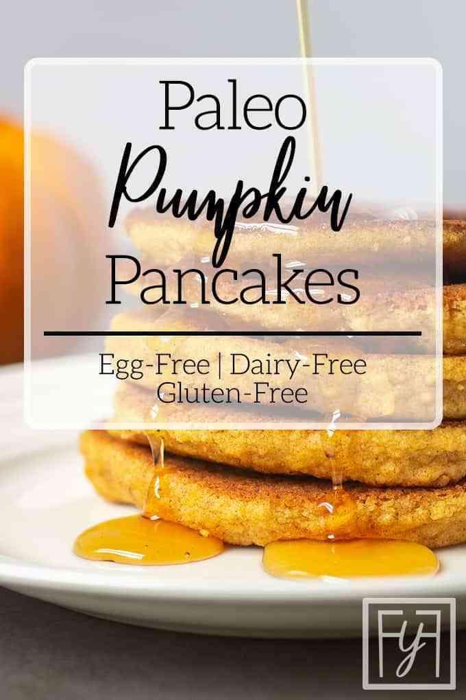 Paleo Pumpkin Spice Pancakes   – Keto