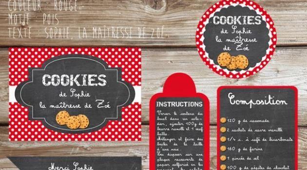 Printables Kit Cookies (téléchargement gratuit)