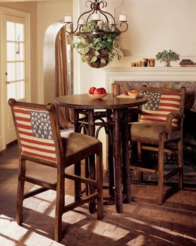 Game Room Furniture: Southwestern Bars and Barstools