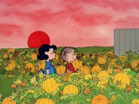 It's the Great Pumpkin, Charlie Brown - Pumpkin, opening sequence. A Halloween classic that  Airs on ABC 10/31 @ 8pm