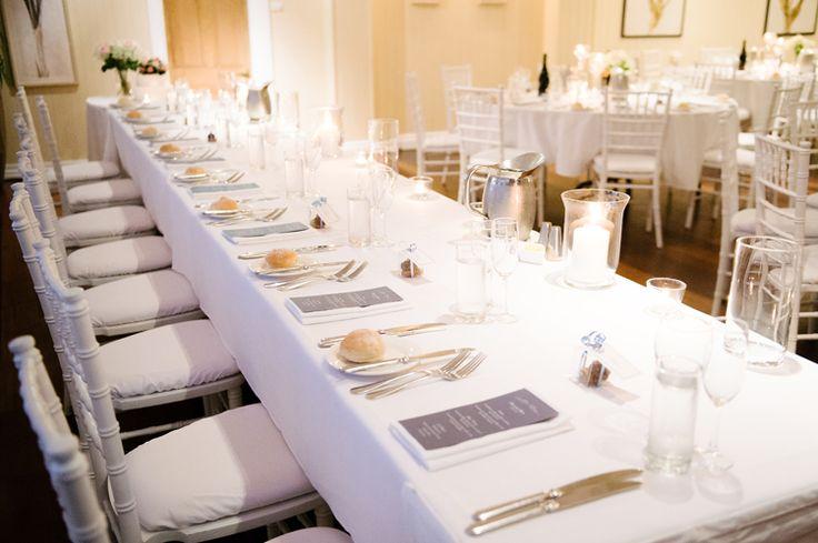 Elegant Hillstone St Lucia Wedding reception