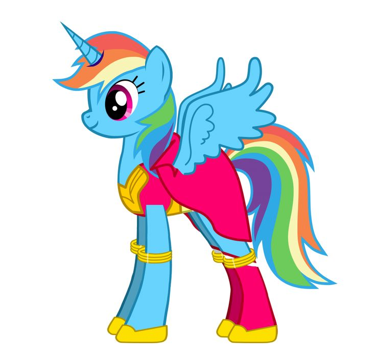 MLP Creator - Princess Rainbow Dash